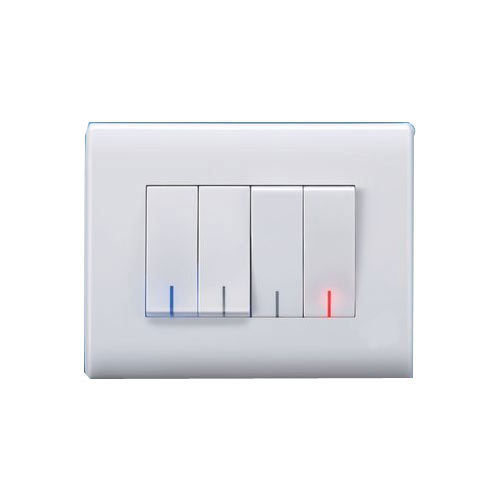 16 White Modular Electric Switch, Rs 75 /piece Samrat Electric ...