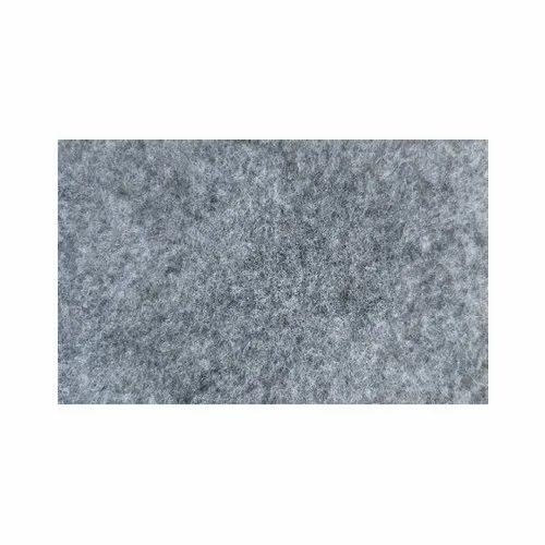 Grey Nylon Plain Floor Mat