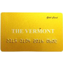 Plastic Gold Cards