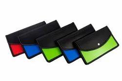 Classik Plastic Button File Folder Matt Matt Design Opaque Fluorescent Document Bag 0.40_ 613