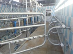 6 Point Swing Over Milking Parlor