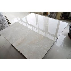White Glossy and Matt Ceramic Floor Tiles, Thickness: 10-15 mm, Size: 60 * 120 In cm