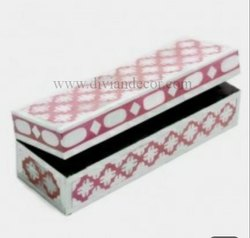Bone Inlay Trinket Box