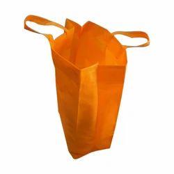 Orange Non Woven 3d Box Bags, Capacity: 5 - 10 Kg
