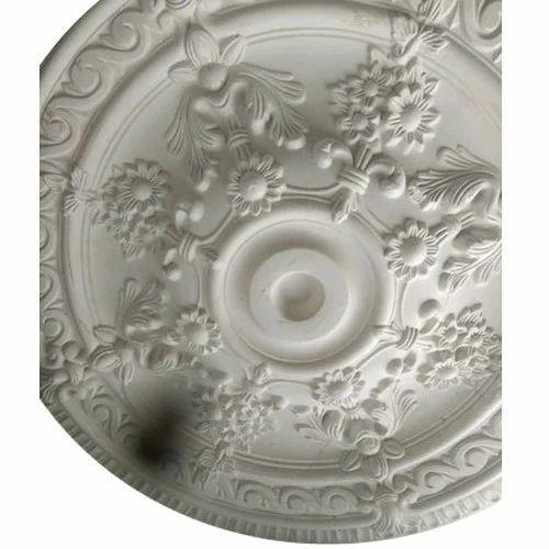 Flower Design Pop Ceiling At Rs 55 Piece Pop Design प ओप फ ल स स ल ग False Ceiling Sri Gayatri Plaster Hyderabad Id 20254422062