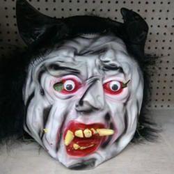 Plastic Horror Mask