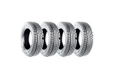 MRF ZCC 145/70 R12 69S Tube-Type Car Tyre (Set of 4)