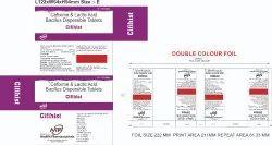 Cefixime And Lactic Acid Bacillus Dispersible Tablets