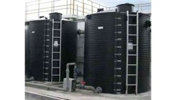 Spiral HDPE Vertical Water Storage Tank