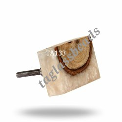Rectangle Resin Wooden Joint Knobs