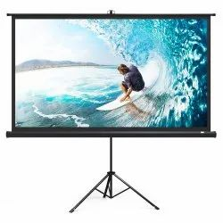 White Projector Screen, Screen Size: 60x60