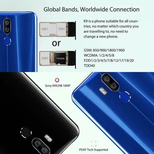 Oukitel K9 Android Smart Phone, 4gb, 64gb, 128gb, 7 12 Inch, 4g, Dual Sim,  Otg