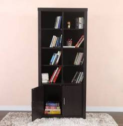 Sant Handicrafts Inc Wall nut Wooden Closed Book Rack, Size: 60*20*10