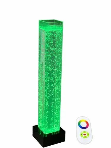 Transparent CLEAR Real Water Bubble Pillar