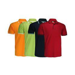 Customize Cotton Collar T- Shirts