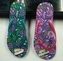 Ladies Embossed Slippers