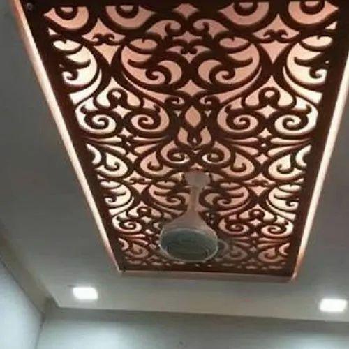 Rectangular Residential Pvc Ceiling Panels Rs 250 Square Feet Afjal Enterprises Id 21880108730