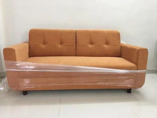 Orange Fabric Sofa Models Rs 9500 Piece Sri Sai Interiors Id