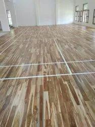 Wooden Badminton Court