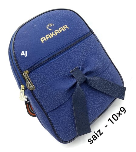 Female 8 COLOR Ladies Backpack, Number Of Compartments: 3, Bag Capacity: 5 Kg
