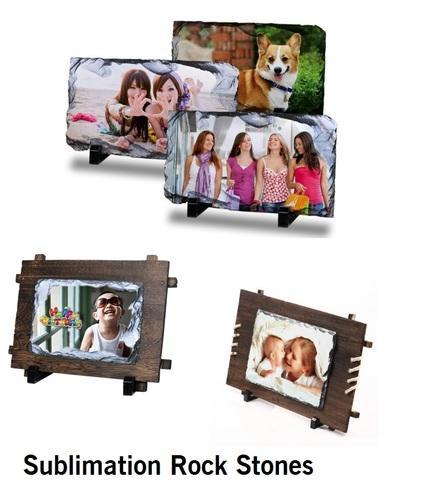Sublimation Rock Stone Frame at Rs 250 /pcs | Stone Picture Frames ...