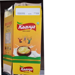 Ghee Packaging Duplex Box (Mono Carton)