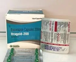 Itraconazole 200 mg Capsules  (Itragold 200)