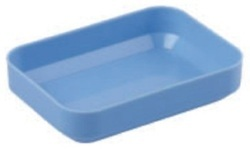 98 X 70 X 20 Mm Blue Disposable Plastic Tablet Tray