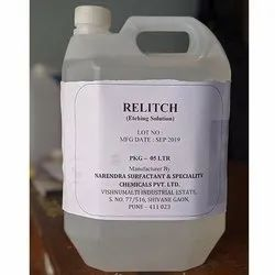 Relitch Etching Solution