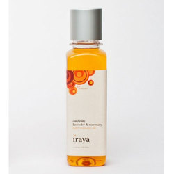 Iraya Comforting Lavender & Rosemary Light Massage Oil