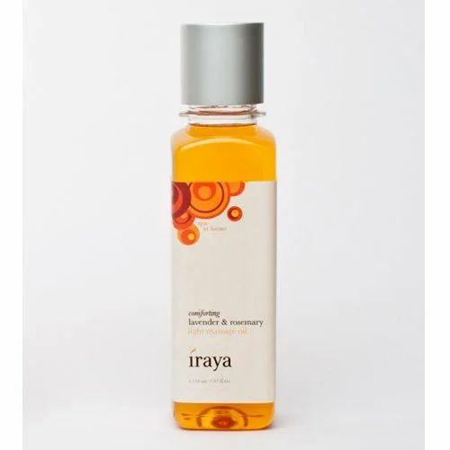 Comforting massage oil