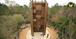 Outdoor Climbing Wall