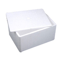 White Thermocol Ice Box