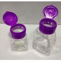 40 CC And 70 CC PET Triangular Jars