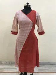 Lavanya Cotton Fancy Party Wear Tunic Kurti, Wash Care: Dry clean