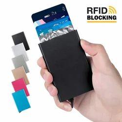 RFID Blocking Metal 6 Slots Stainless Steel Aluminum Credit Card Holder  wallet case for Men a at Rs 197/piece | Sardar Ganj | Ahmedabad| ID:  20134383830