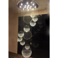 Double Floor Chandeliers