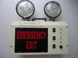 Industrial Emergency Light (Model-_LED_2_EM.EXIT)