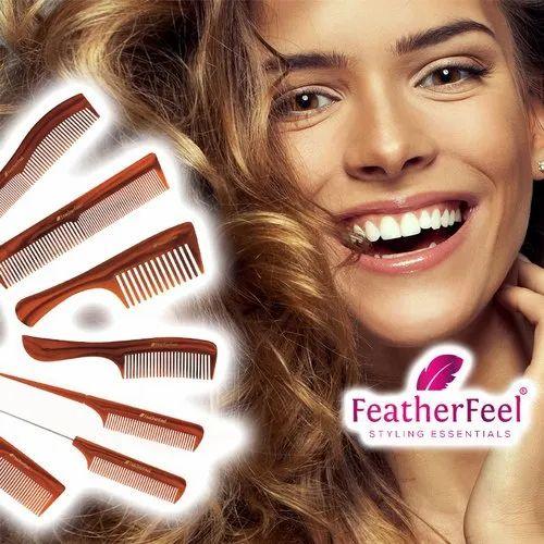 FeatherFeel hair comb
