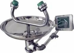 S-Safe Wall Mounted Eyewash Station (Hand Operated) Ss304