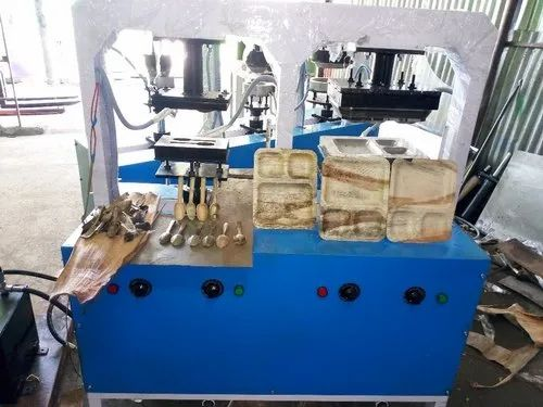 Disposable Plate Forming Machine