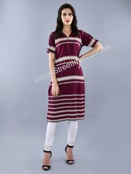 Ladies Half sleeves Kurti