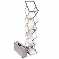 Zig Zag Catalogue Stand