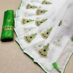 Trendy Chanderi Saree