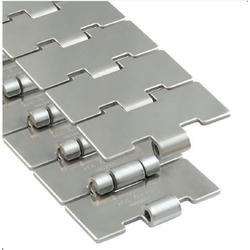Stainless Steel Slat Chains Double Hinge
