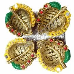 Golden Stone Diya 7092004891237