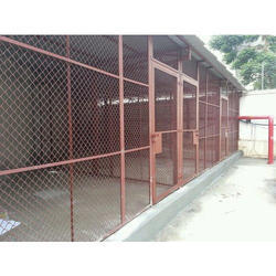 Color Coated MS Parking Mesh Fencing