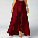 Ruffle Palazzo Pants for Woman