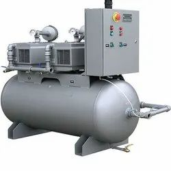 10 HP Reciprocating Compressor Two Stage Air Compressor, Discharge Pressure: 7 To 12 Bar, Air Tank Capacity: 300 L