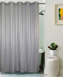 Lushomes Unidyed Shower Curtain